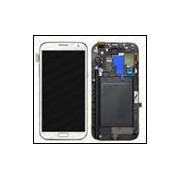 Samsung LCD Screen with Digitizer with Frame (Black) Note 2