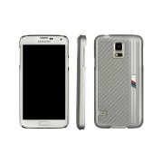 BMW M Hard Cover in Black/Silver/Carbon for Samsung Galaxy