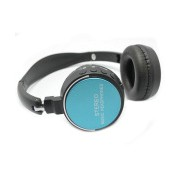 Stereo BT Headset Radio/MP3/Card slot black/blue