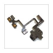 Apple audio Jack flex Cable white iPhone 4